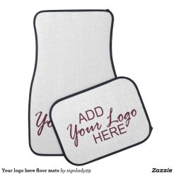 Your logo here floor mats