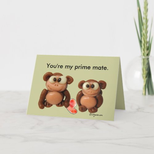 You're My Prime Mate Anniversary Card
