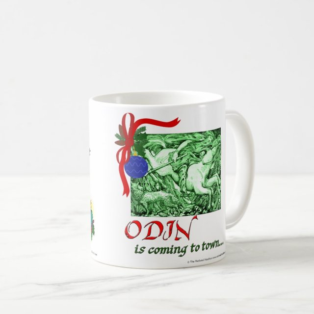 Yule/Odin Coming to Town Basic Mug