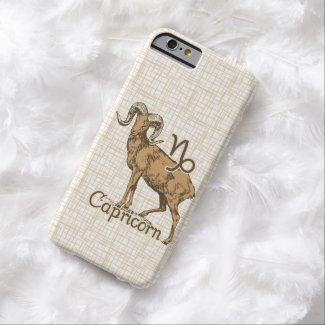 Zodiac Sign Capricorn Symbol Barely There iPhone 6 Case