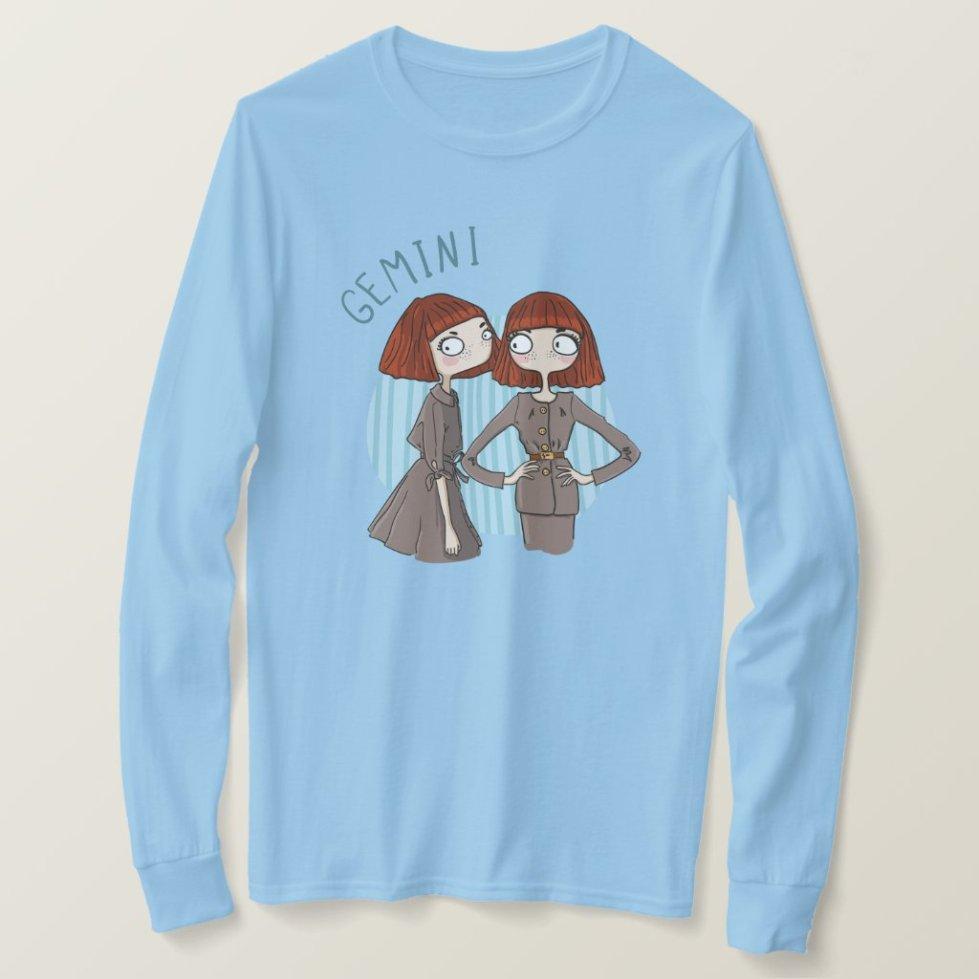 Zodiac Sign - Gemini - May 21 - June 20 T-Shirt