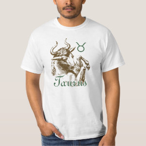 Zodiac Sign Taurus Symbol T-Shirt