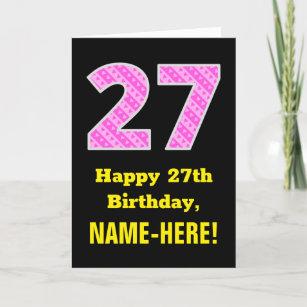 Gastebuch Geburtstag Geschenk Karte Dekoration 27 30 35 40 43 50
