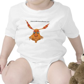 Anderswozuhause-Babystrampler