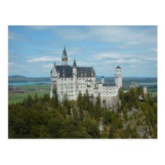 Neuschwanstein-Schloss - Schloss Neuschwanstein Postkarten