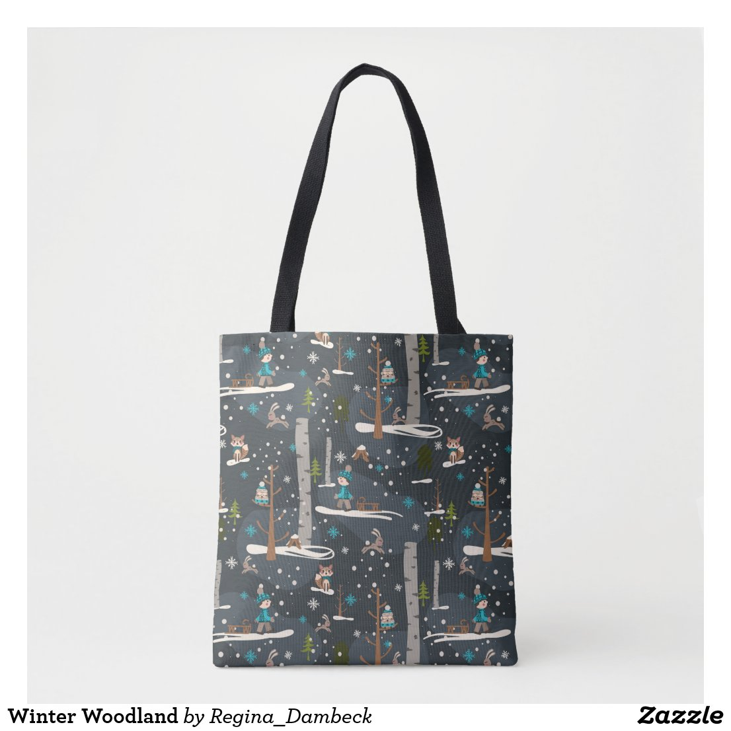 Winter Woodland Tasche