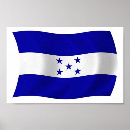 bandera de honduras colouring pages