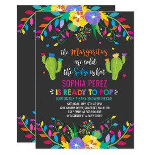 Extraordinario Invitaciones Para Baby Shower Nina Mexicano On Log Wall