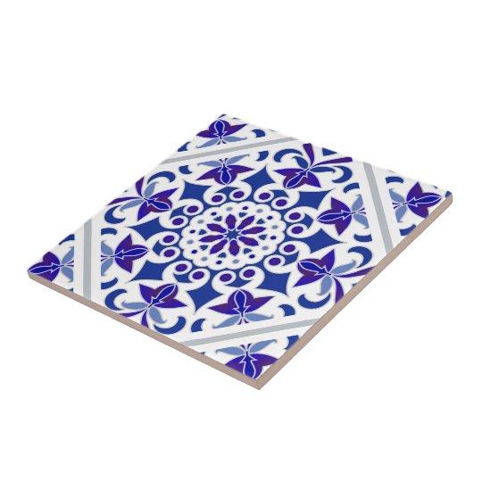 carreau indigo azulejos portugais carrelage bleu et blanc