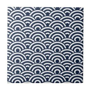 carreaux motif de japonais en ceramique