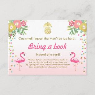 invitations faire part flamant rose