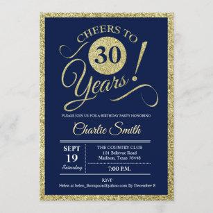 cartes anniversaire de 30 ans