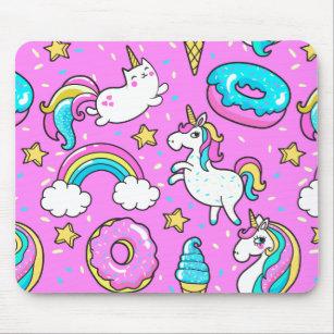 tapis de souris licorne drole zazzle fr
