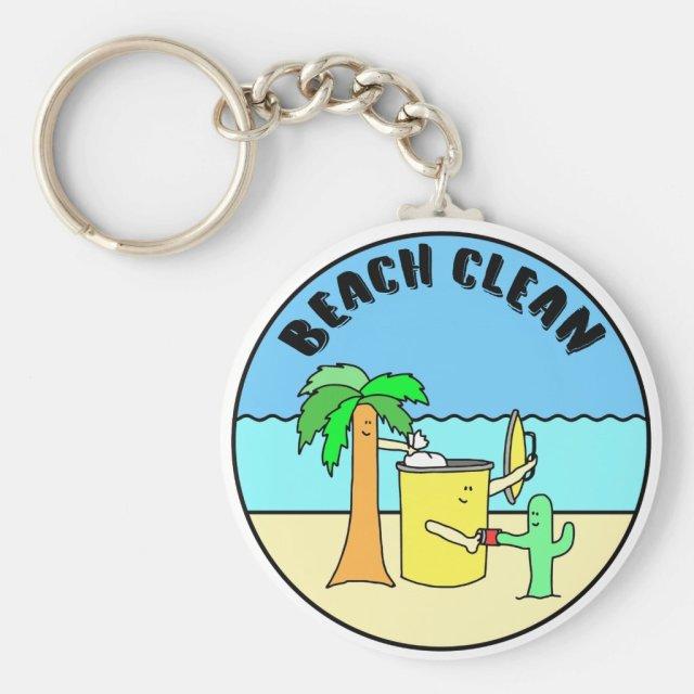 BEACH CLEAN キーホルダー