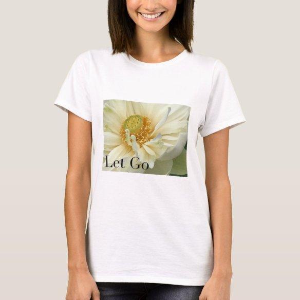 LET GO T-shirts 手放す アファメーションTシャツ Tシャツ