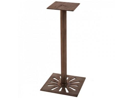 Pied De Table Indus Mange Debout Grille En Metal Pt51md Rm Mobilier