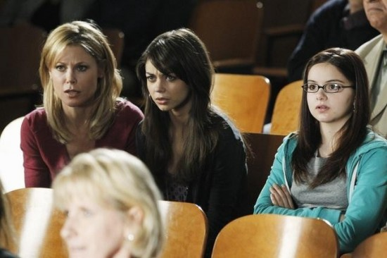 Alex Dunphy (right), Haley Dunphy (middle), Claire Dunphy (left)