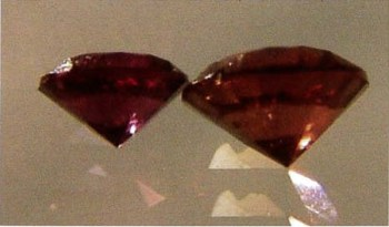 Faceted Cape Ruby from Green River.