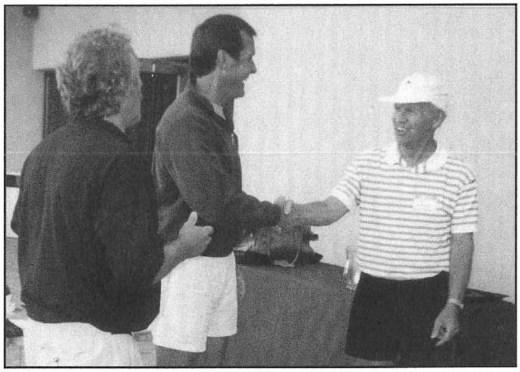 Scott Stapp won the A division, and Al Ambler won the B division.