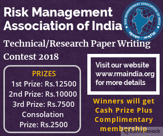 Risk Management -Technical/Research Paper Writing Contest