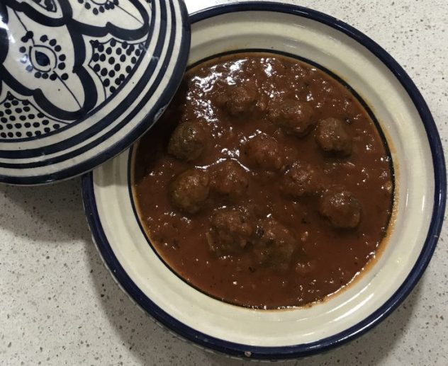 marhaba y su delicioso tajine de kefta