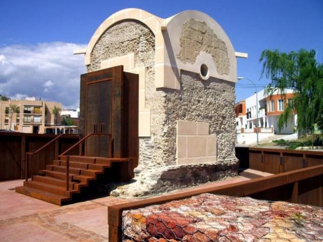 mausoleo romano en abla almería
