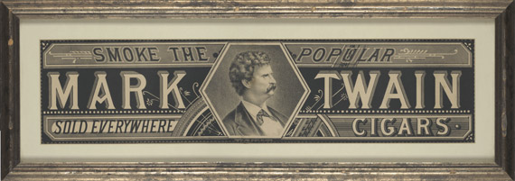From a Cornell University Library exhibit on Mark Twain: