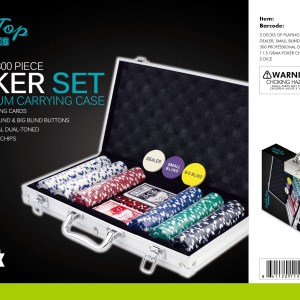 B1-420 - 300 pc. Poker Set-0