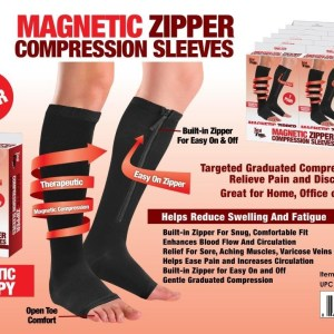 F1-301 - 'Magnetic' Zipper Compression Sleeves-0