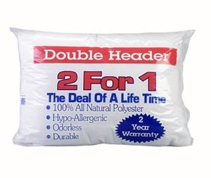 "F1-577 - ""Double Header"" Twin Pack Pillow-0"