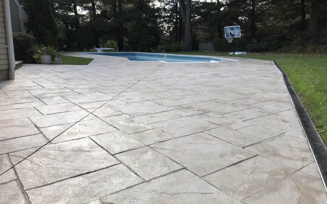 new canaan ct stamped concrete