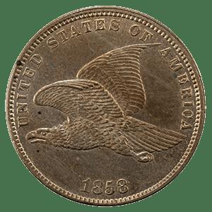 Flying Eagle Cent (1856 - 1858)