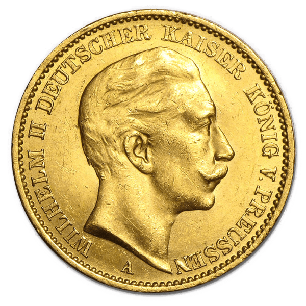 German Gold Mark Obverse