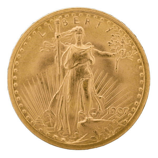 Saint-Gaudens Gold Obverse