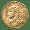 Swiss Gold Franc Obverse