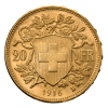 Swiss Gold Franc Reverse