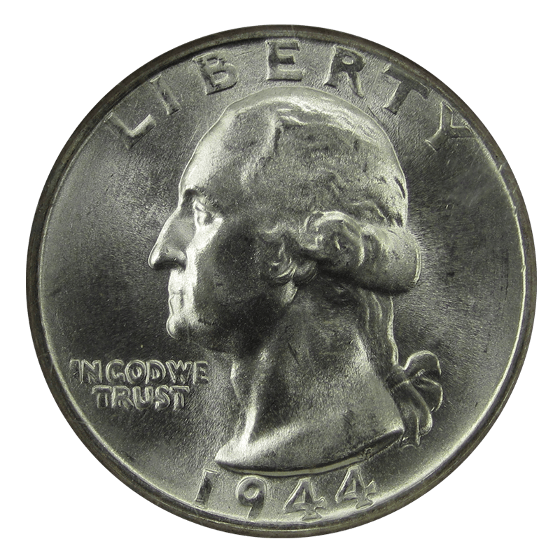 Washington Silver Quarter Obverse