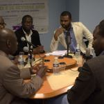 RA, 20/06/2014 : SPÉCIAL ÉLECTION PRÉSIDENTIELLE, invités, Maitre DIALLO Mamadou (AJD/MR), DIAWARA Issa (UPR), BARRO Abou Ciré (pour le candidat Biram Dah Abeid), DIALLO Djibril ( Tawassoul-FNDU) et le journaliste DIAGANA Abdoulaye de Kassataya