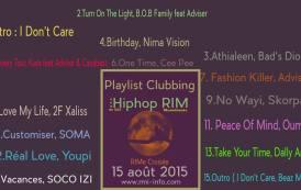 Playlist Clubbing RIMe Croisée