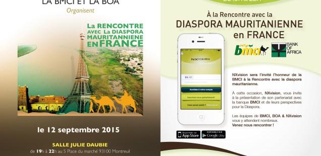 La BMCI rencontre la Diaspora mauritanienne en France
