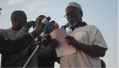 Boubacar O. Massaoud, PDT du comité de suivi du Manifeste