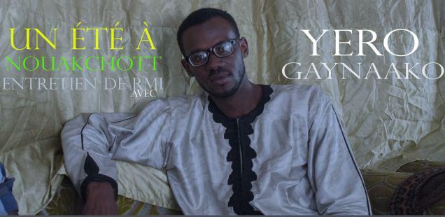 Entretien de RMI avec Yéro Gaynaako