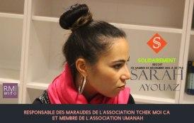 SOLIDAIREMENT reçoit Sarah AYOUAZ, Assos Tchek Moi Ça & Umanah