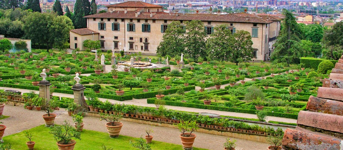 Medici Gardens, Florence, Italy. R. Michael Brown Multimedia Producer