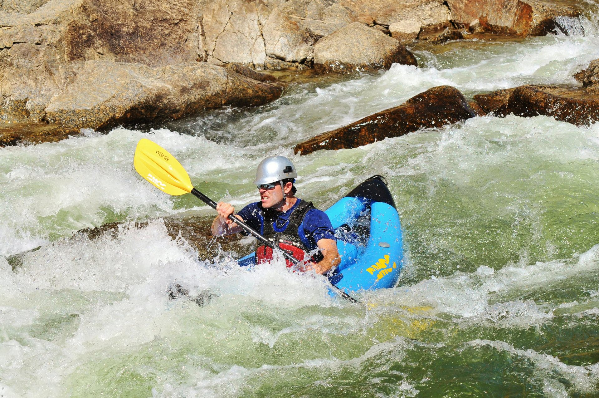 Upper Brown's Canyon Inflatable Kayaking