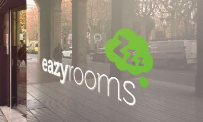 branding eazyrooms hull logo
