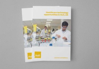 Hull Forward healthcare brochure
