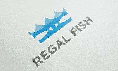 regal fish logo branding