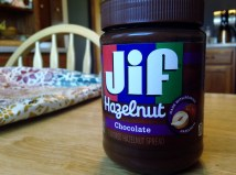 Substitute the chocolate chips with Jif Hazelnut Chocolate Spread!
