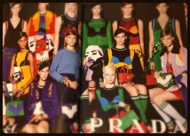"""Prada is currently leading the """"art-as-fashion"""" trend! Love it!"""